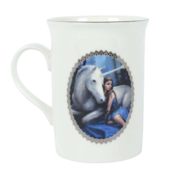 ANNE STOKES Blue Moon Unicorn Mug